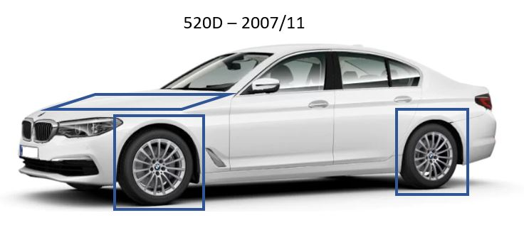 BMW 520D – 2007/11