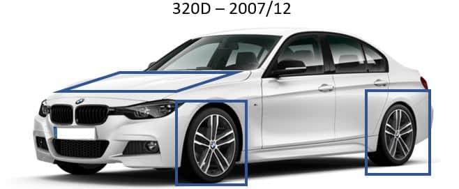 BMW 320D – 2007/12